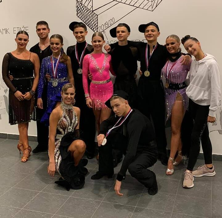Državno prvenstvo v latinskoameriških plesih – oktober 2020
